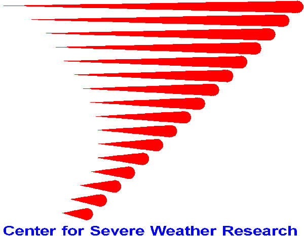 Center for Severe Weather Research logo